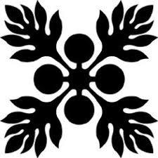 Hawaiian Quilt Tile 11 | Hawaiian Quilting | Pinterest | Hawaiian ... & Hawaiian Quilt Tile 11 | Hawaiian Quilting | Pinterest | Hawaiian quilts,  Hawaiian and Stenciling Adamdwight.com