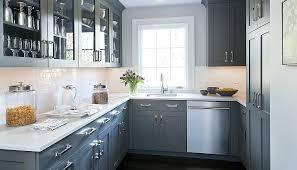 kitchen ideas light cabinets. Exellent Cabinets Gray Kitchen Ideas Design Idea Grey Porcelain  Floor Tiles Is   On Kitchen Ideas Light Cabinets