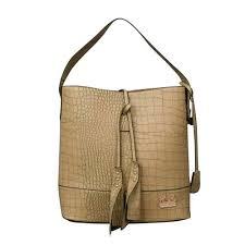 Coach Bleecker Sullivan In Embossed Medium Khaki Shoulder Bags E