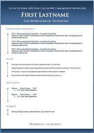 Libreoffice Resume Template