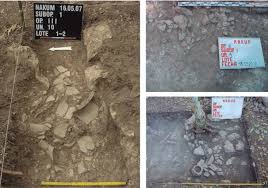 excavations in nakum structure new data on protoclassic  photographs showing scattered ceramics found on the floor of structure 99a a possible vestige of