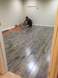 Wonderful Amazing Laminate Flooring On Cement 17 Best Ideas About Basement Flooring  On Pinterest Unfinished Home Design Ideas