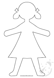 Sagome Di Bambini Che Potete Stampare E Utilizzare Come Volete Per