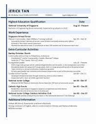 Co Curricular Activities In Resume Co Curricular Activities In Resume Sample Inspirational Resume 11