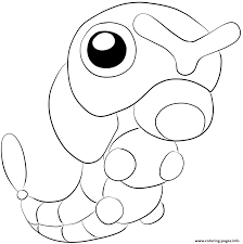 Small Picture 010 caterpie pokemon Coloring pages Printable