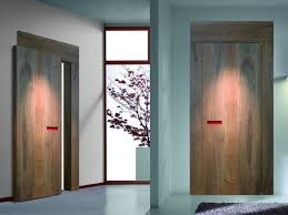 interior design large size unique red handle on stunning wooden indoor doors on white painted