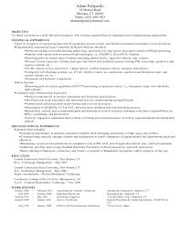 Gallery Of Resume Samples Environmental Services Technician Resume