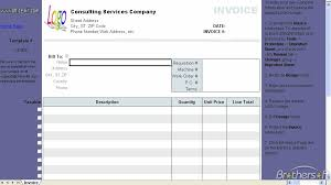Download Free Consulting Invoice Template Consulting Invoice