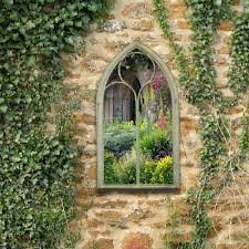 garden mirror. Beautiful Mirror Charles Bentley Gothic Style Chapel Garden Mirror 2 For S
