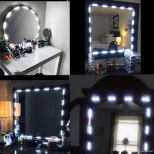 2019 makeup vanity mirror lights dimmable 60 leds 9 8ft diy led make up light kit 2800lm for cosmetic mirrors kitchen with remote from paulzhang86