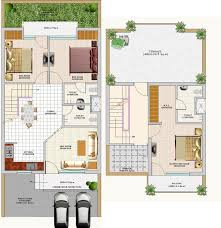 apartments two story duplex house plans homes zone layout plan