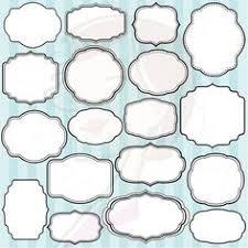 Decorative Text Boxes Doodle Digital Frames Borders Tags Clip Art Clipart Doodle 55