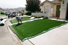 artificial turf backyard. Artificial Turf Installaiton - Installation Process Synthetic Grass Los Astro For Backyard