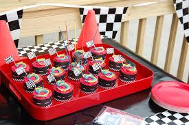 Race Car Party Cupcakes Kids Birthday Party Ideas Race Car Party