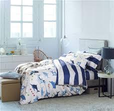 Bedding Sets & Collections - Bedding - Home & Kitchen - BelleShare.com & Cheap Queen Bed Quilt Covers Bedlinen 4 pieces Queen Stripe Shark Bedding Adamdwight.com