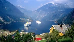 fjords in a nutsl cruising in norway