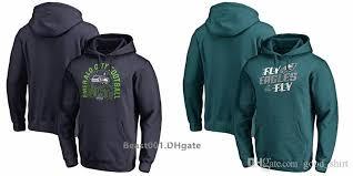 Men Women Youth Philadelphia Sweatshirt Eagles Seahawks Pro Line By Branded Playoffs Bound Hometown Pullover Hoodie