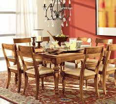 ... Dining Room, Pottery Barn Style Dining Rooms Pottery Barn Harvest Table  Brown Color With Lemon ...