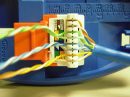 the trench how to punch down cat5e cat6 keystone jacks repeat the other 3 pairs of wires and you have a completed keystone jack it will look like this note how the jacket is very close to the jack