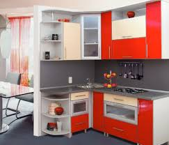 contemporary kitchen design for small spaces.  Design Contemporary Kitchen Design For Small Spaces Ideas Tiny Red Modern  Acrylic Cabinet Designs With S