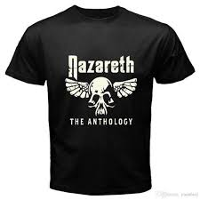 New Nazareth The Anthology Rock Band Legend Mens Black T Shirt Size S To 3xl Clever Funny T Shirts Funny Tshirts From Yubin10 25 99 Dhgate Com