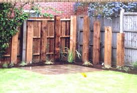 Garden Design Ideas With Railway Sleepers Upright Railway Sleepers Introduce Height And Define The