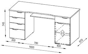 large image for maja malborough white computer desk alternative image computer desk dimensions mm computer lab