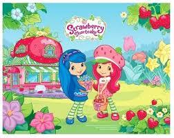 "<b>Подкладка на</b> стол ""Strawberry shortcake"", ПВХ с заварным ..."