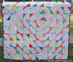 100 Days of Modern Quilting- Week of Color- Featured Quilt 7   MQG ... & Modern Scrappy Baby by Andie Johnson Adamdwight.com