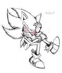 Sonic Exe Coloring Pages Colourful
