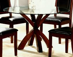 table and chairs top view. Rustic Wooden Base Dining Table And Chairs With Round Glass Top View Original Pic Full Large