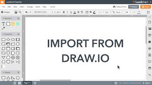 Lucidchart Tutorials Draw Io Import Beta
