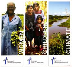 episcopal relief development bookmarks