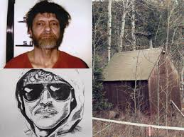 「Unabomber Ted Kaczynski homemade bombs through the mail, killing three and injuring over 20.」の画像検索結果