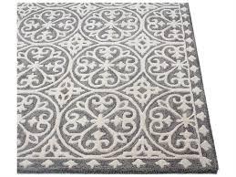 bashian rugs verona grey rectangular area rug