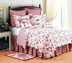 red quilted bedding country quilt baby bedding primitive country quilts bedding red and check bedding country
