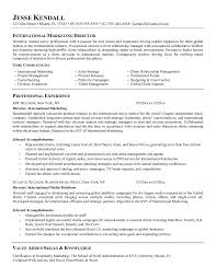 Brilliant Ideas of Marketing Director Resume Sample For Your Format Layout