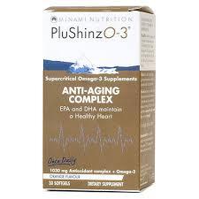 minami nutrition plushinzo 3 anti aging plex softgels 30