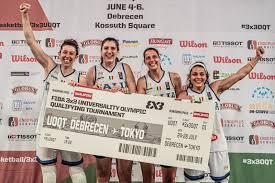 L'impresa della nazionale del basket 3x3 femminile: l'Italia torna alle  Olimpiadi - Open