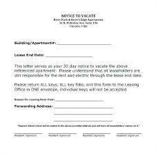 30 day notice to landlord form free sample 30 day notice to tenant vacate letter assured tenancy