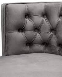 Casa Padrino Luxus Chesterfield Esszimmerstuhl Grau Schwarz 60 X 58 X H 77 Cm Esszimmermöbel