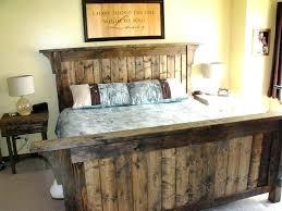 Wooden Rustic Bed Frames Western Bed Frames Rustic Bed Frames King ...