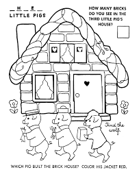 collection of pre printables the three little pigs them and try to solve