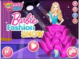 barbie dress up games barbie fashion show game