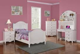 country white bedroom furniture. 2007T-1 Hayley 4 Piece Girl Country White Wood Twin Sleigh Bedroom Set Furniture Y