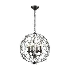 oil rubbed bronze crystal chandelier sterling industries oil rubbed bronze four light chandelier hampton bay 4