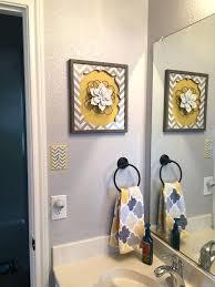 yellow and gray bathroom decor yellow and gray bathroom collection yellow and grey bathroom wall decor