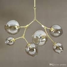 lindsey adelman lighting light creative branching bubble glass chandelier modern art pendant light office living room
