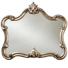 Antique mirror frame Large Etsy Antique Mirror Silver Frame
