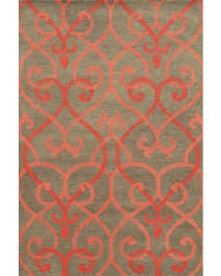 coral colored rug. Coral And Gray Rug Colored A